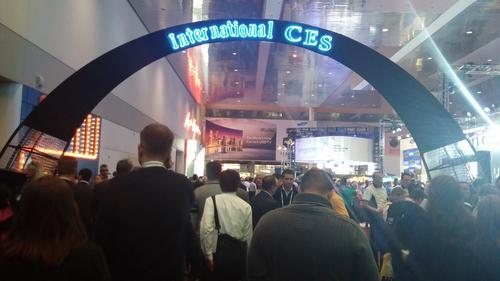 CES 2014 was just as crowded and busy as ever.